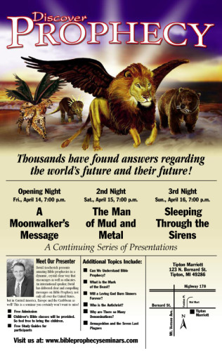 Discover Prophecy Poster