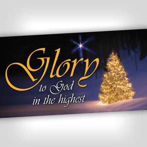 Glory 4x8 Banner