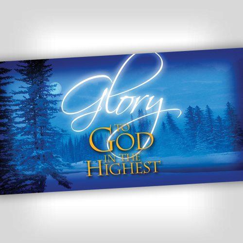 GloryHighest 4x8 Banner