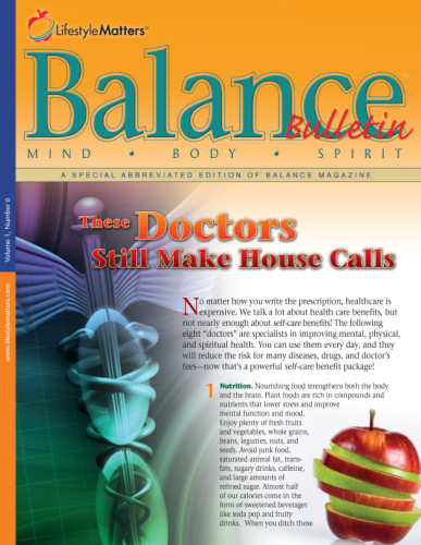 Balanced Living Bulletin – HOPESource