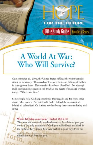 Hope for the Future Bible Study Guides