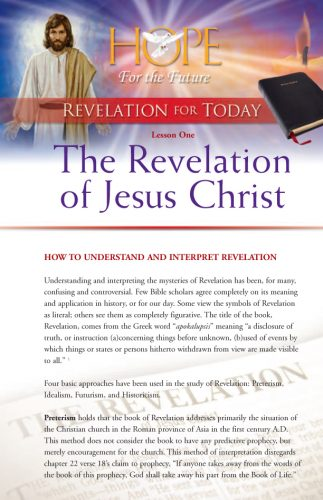 Revelation for Today Bible Study Guides