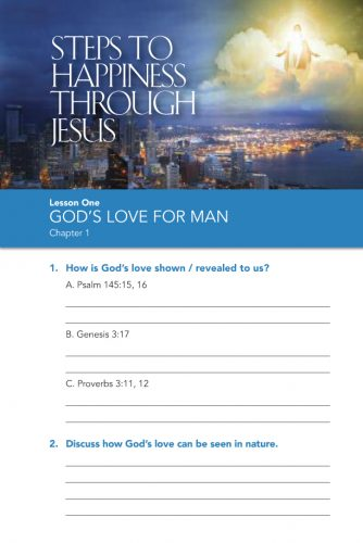 Steps to Happiness Bible Study Guides
