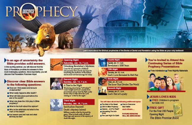 4 Discover Prophecy Handbill – HOPESource
